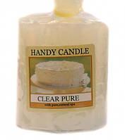 9060118 Свеча ароматическая Clear Pure (Vanilla)
