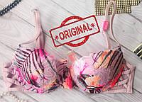 Бюстгальтер с пуш ап Pink Victoria's Secret Оригинал 34B 75B виктория сикрет, фото 1