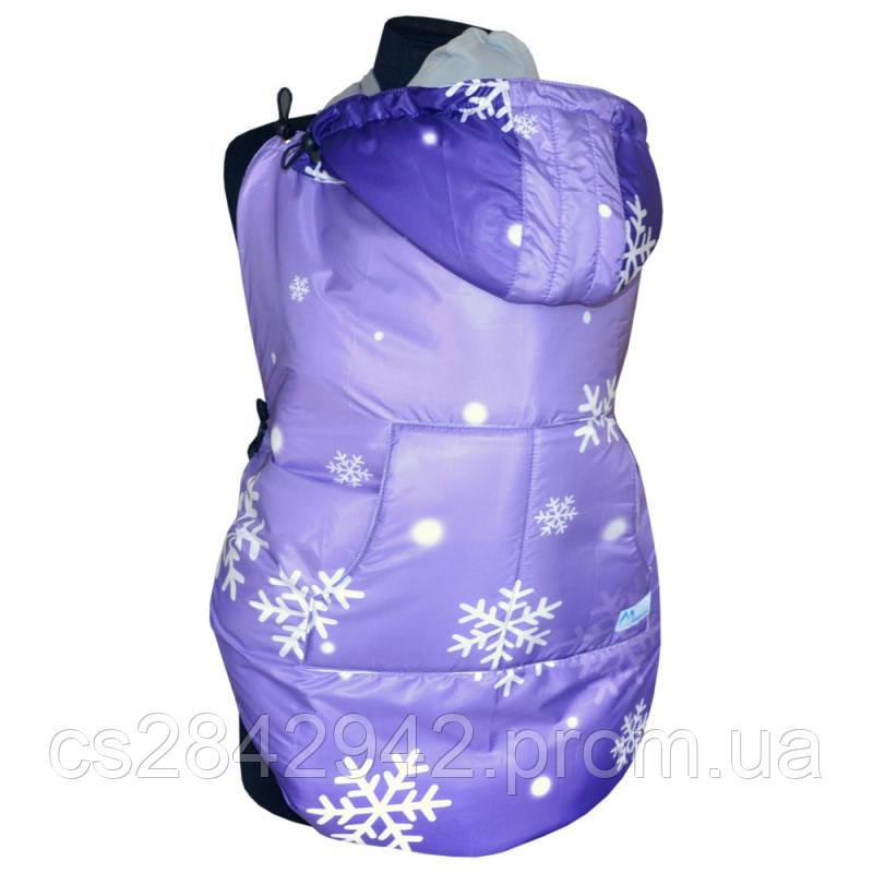 Слінгонакидка зимова (Слингонакидка зимняя) Фіолетова зі сніжинками