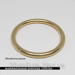 Кольца для сумок (36мм) золото, 10шт 4335