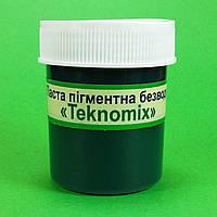 """Пигментные пасты безводные """"TEKNOMIX"""" для эпоксидной смолы 25 ml Зеленая, фото 1"""