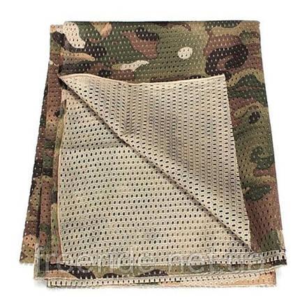 Тактический маскировочный сетчатый шарф (армейский), фото 2
