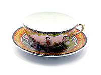 Чашка с блюдцем Золотой век 22556
