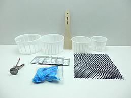 Набор для приготовления мягких сыров с электронным термометром