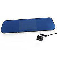Зеркало-видеорегистратор с двумя камерами DVR FullHD 1080p A1 (sp4176), фото 1