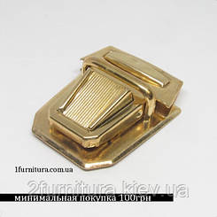 Замки для сумок золото, 4шт 4584