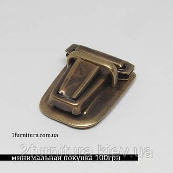 Замки для сумок антик, 4шт 4587
