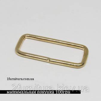 Рамки для сумок (30мм) золото, 50шт 4154