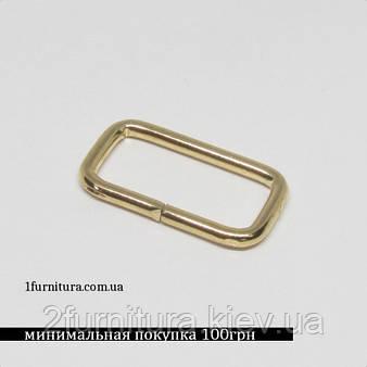 Рамки для сумок (20мм) золото, 50шт 4157