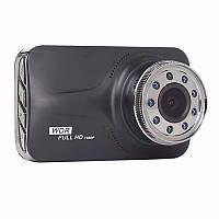 Видеорегистратор Noisy DVR T639 WDR Full HD с выносной камерой заднего вида Черный, фото 1