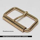 Пряжки для сумок (40мм) золото, 6шт 4122