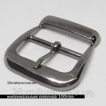 Пряжки для сумок (30мм) темный никель, 4шт 4858
