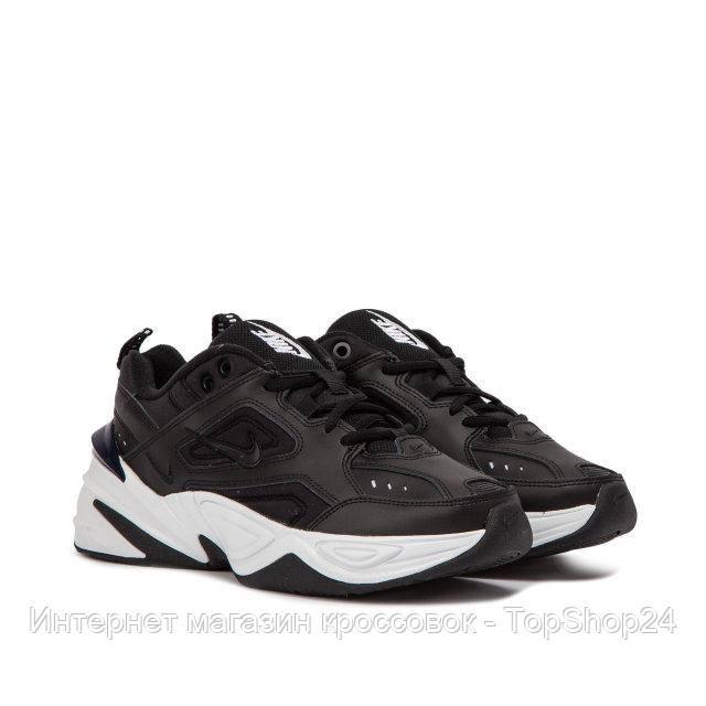 "Кроссовки Nike M2K Tekno ""Black Obsidian"" (Черные) (реплика А+++ )"