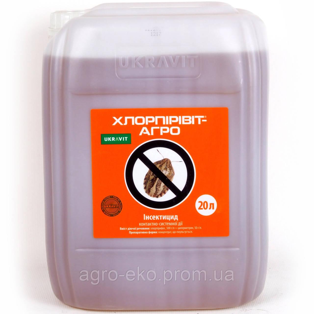 Инсектицид Хлорпиривит-Агро (Нурел Д)