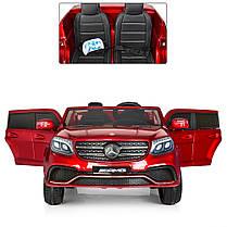 Двухместный детский электромобиль Mercedes GLS 63 полный привод, фото 2