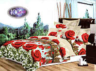 Комплект постельного белья бязь №пл217 Полуторный, фото 1