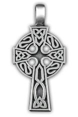 """0220019 71120 Амулет защитный тотем """"Кельтский крест"""" материал - олово"""
