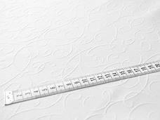 Ткань для Скатертей Вьюнок-150 (Рис.8) Белая с пропиткой Тефлон 150см, фото 3