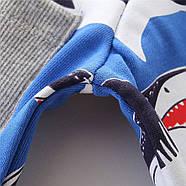 Кофта для мальчика Акулы Jumping Meters, фото 6