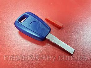 Заготовка автоключа логотип Fiat SIP22 с местом под чип Тип 2
