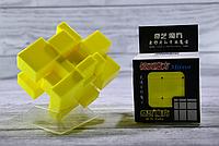 Кубик Рубика зеркальный 3х3 Qiyi-Mofange Mirror Yellow, фото 1
