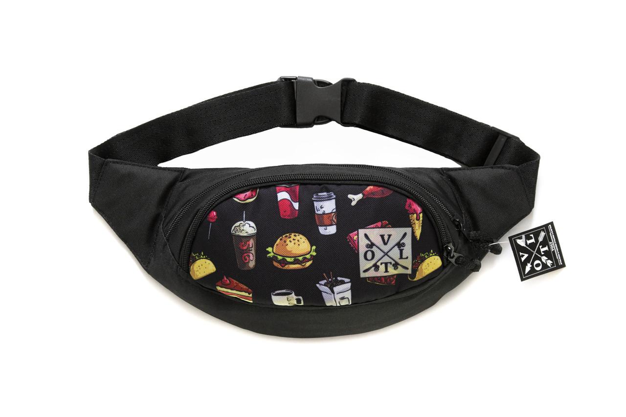 Сумка на пояс VOLT fast food
