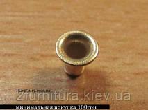 Люверсы (1.8мм) золото, 50шт 6262