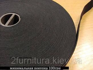 Резинка (Китай) черная 25м (ЧЕРНЫЙ, 25 мм)