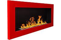 Настенный биокамин 900x400 Красный