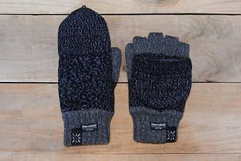 Рукавицы зимние VOLT Thinsulate grey с обрезанными пальцами