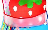 Слюнявчик фартук с ковшом для еды на липучке, фото 3