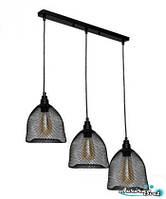 Люстра подвесная AuroraSvet loft 11400 чёрная.LED светильник люстра. Светодиодный светильник люстра., фото 1