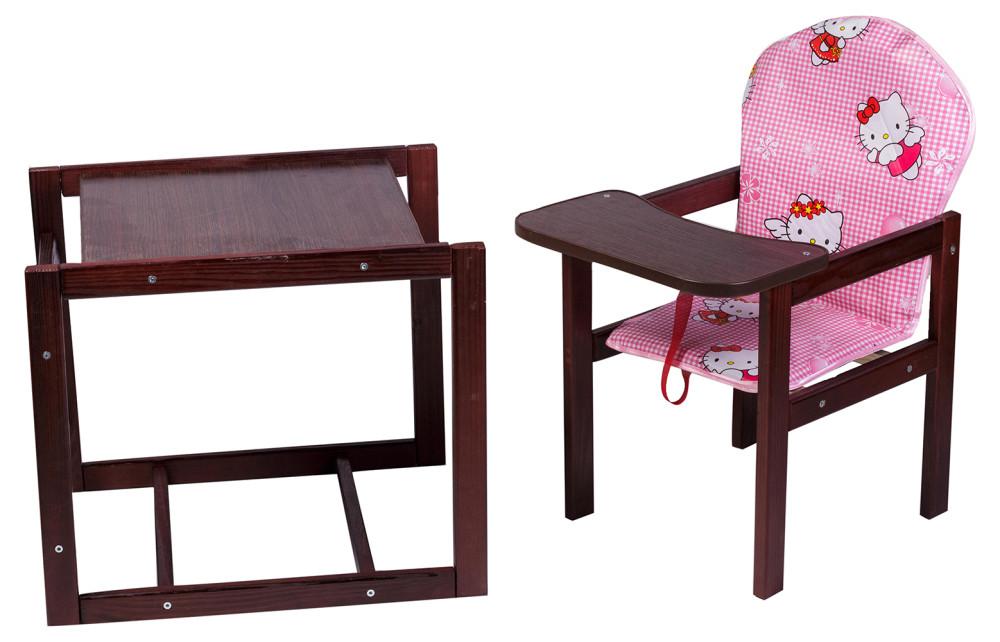 Стульчик- трансформер Наталка Зайчик-22 темный розовый (Hello Kitty)