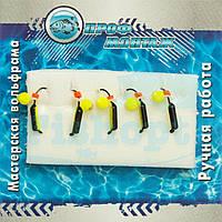 Мормышка вольфрамовая |384| Столбик 1,5 флуоросцент НЕОН 0,2g