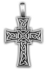 """0220019 71129 захисний Амулет тотем """"Променистий хрест"""" матеріал - олово"""