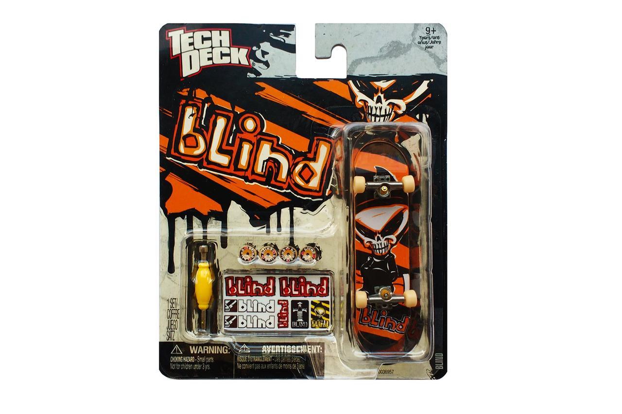 Набор фингерборд + детали Tech Deck Blind skull org