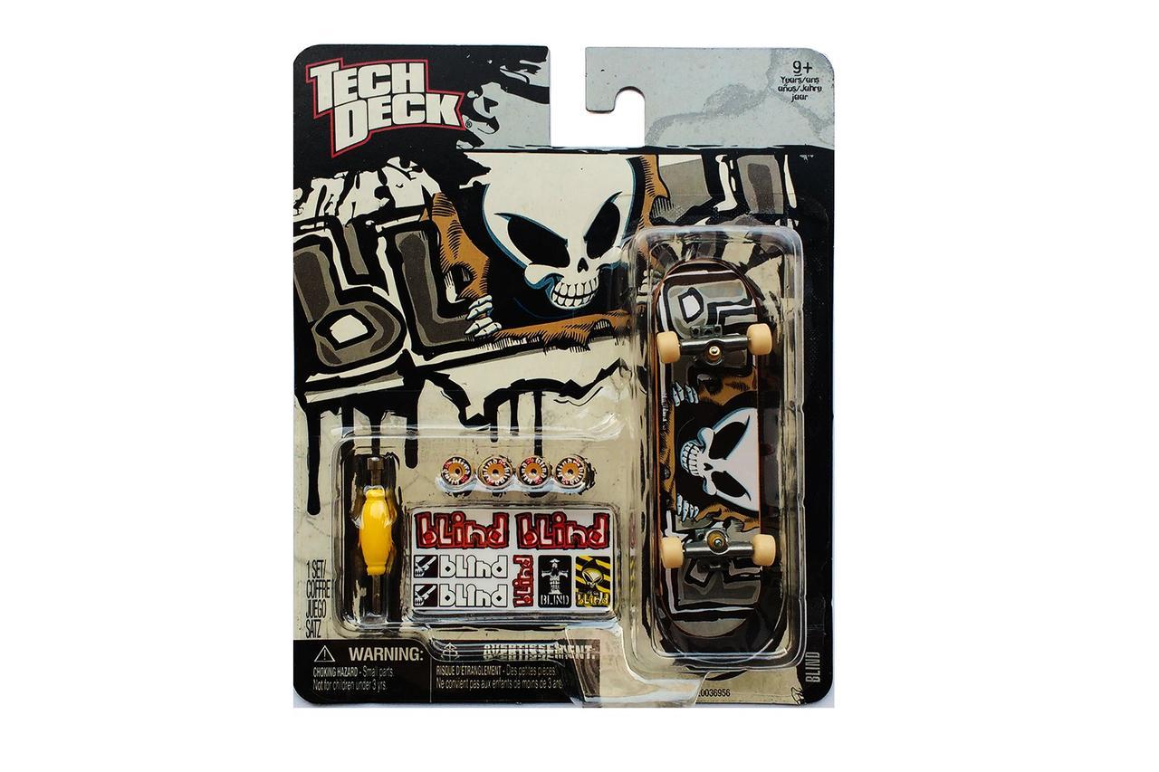 Набор фингерборд + детали Tech Deck Blind skull grey