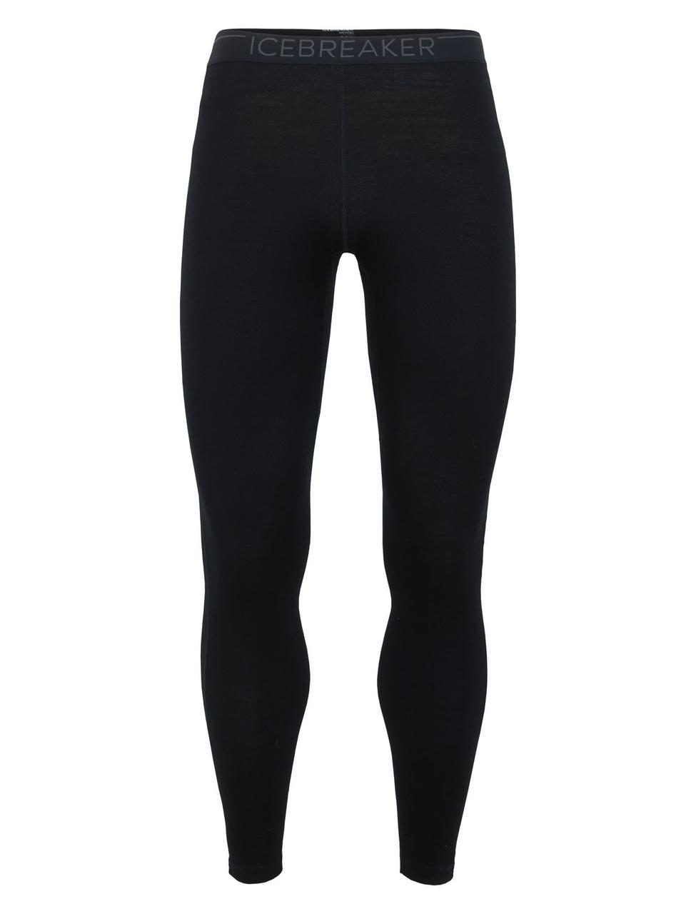 Термобрюки мужские Icebreaker 260 Tech Leggings Black-Monsoon S (104 373 001 S)