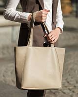 Сумка шоппер мини светло серый софитель, фото 1