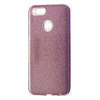 Чехол-накладка DK Silicone Glitter Heaven Rain для Xiaomi Mi A1 (Mi 5X) (pink)