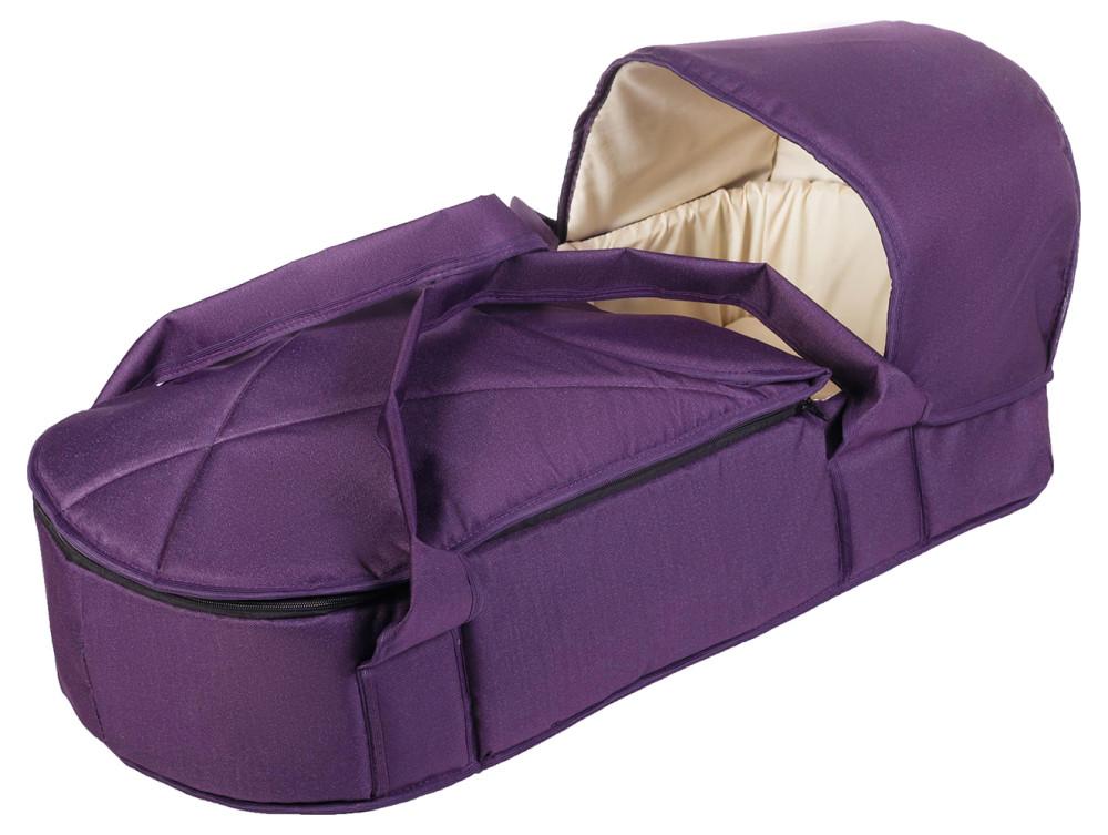 Люлька-переноска Babyroom BLP-055 с твердым дном фиолетовый
