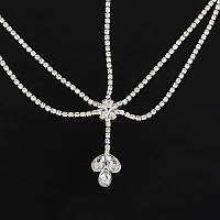 Красивое украшение для девочки (девушки, невесты) серебро, фото 1
