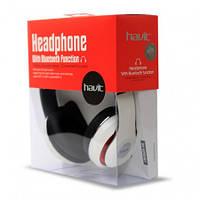 Беспроводные наушники Bluetooth Havit HV-H2561BT с микрофоном белые, фото 1