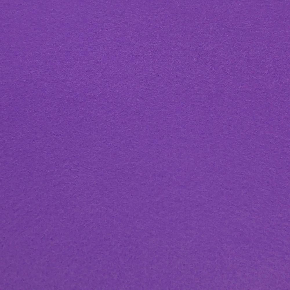 Фетр корейська м'який 1.2 мм, 22x30 см, ТЕМНО-ФІОЛЕТОВИЙ
