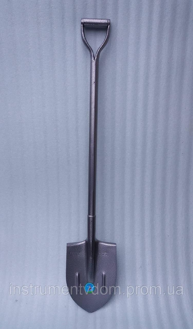 Лопата штыковая с железным черенком (поисковая)