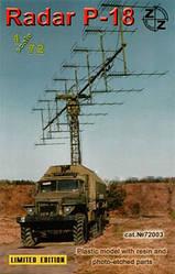 Radar P-18 1/72 ZZ Modell 72003