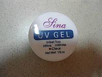 Гель для наращивания Lina 15 ml.прозрачный