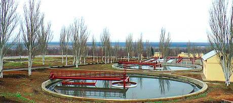Илоскреб Ø18, 24, 30, 40м для первичных радиальных остойников — оборудование для очистки воды