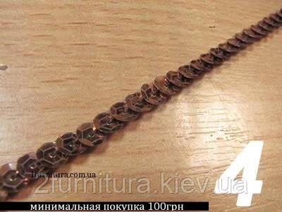 Пайетки на тесьме рельефные (90м)  (Модель 4)