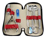 Маникюрный набор инструментов KDS 04-7105 (Красный)
